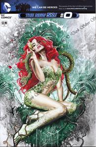 """Poison Ivy"" Batman the new 52 #0 sketch cover"