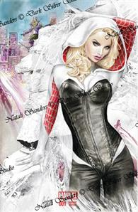 """Spider-Gwen"" #1s sketch cover Gwen"